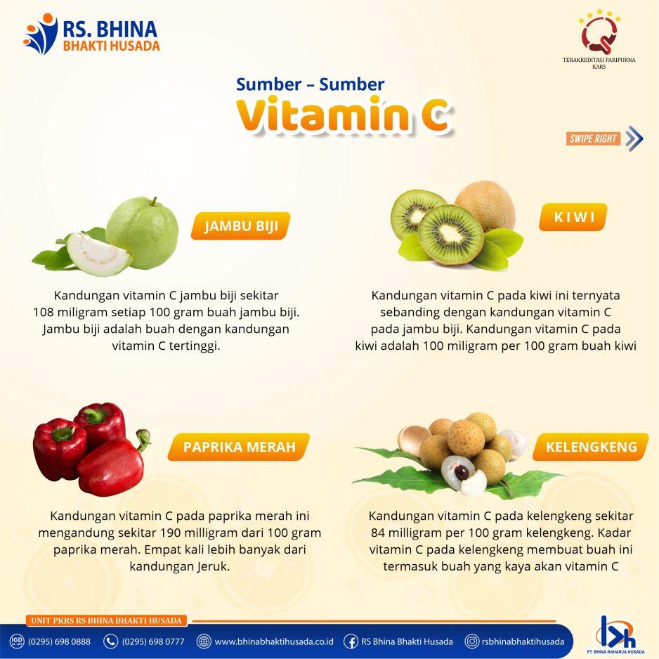 Sumber-sumber Vitamin C