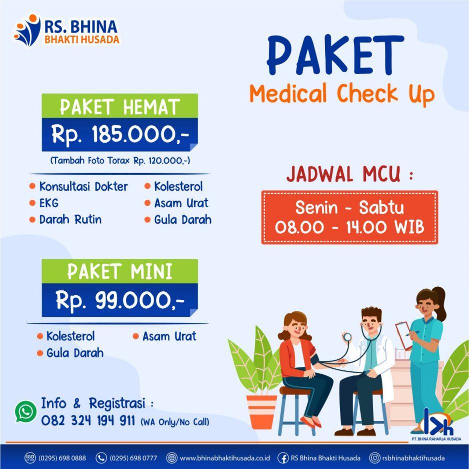 Paket Medical Check Up