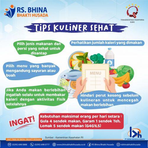 tips kuliner
