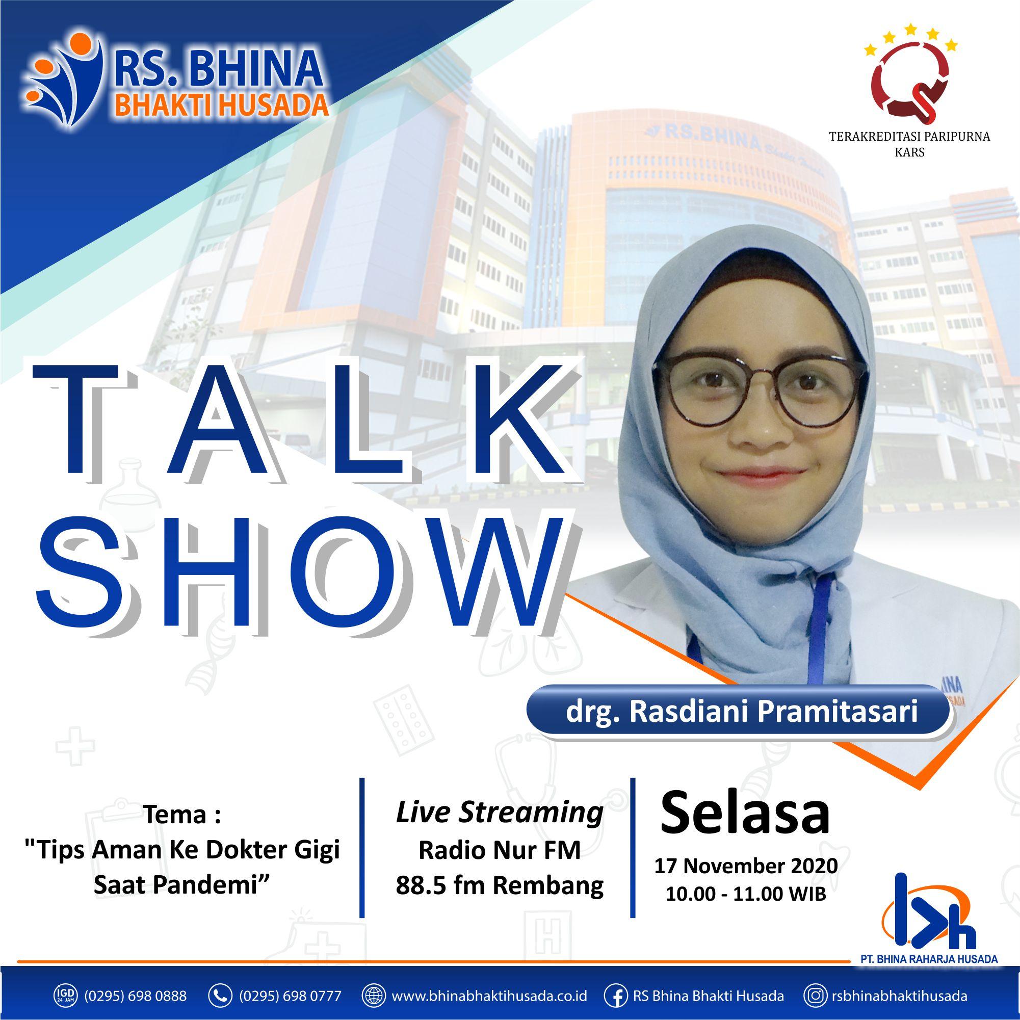 TALK SHOW DR MITA